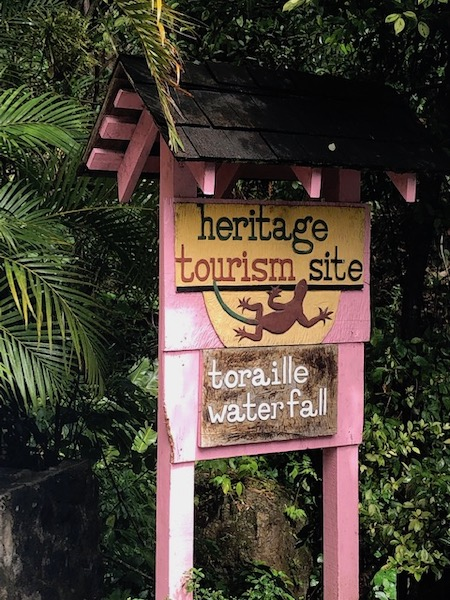Toraille water fall - St Lucia - Cosol Tours - Travel Blogger