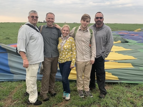 Travel Bloggers- Kenya - hot air balloon - Maasai Mara - Gate 1 Travel