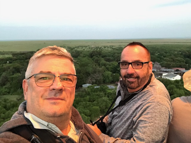 Hot air balloon ride - Maasai Mara- travel blogger - Kenya - Gate 1 Travel