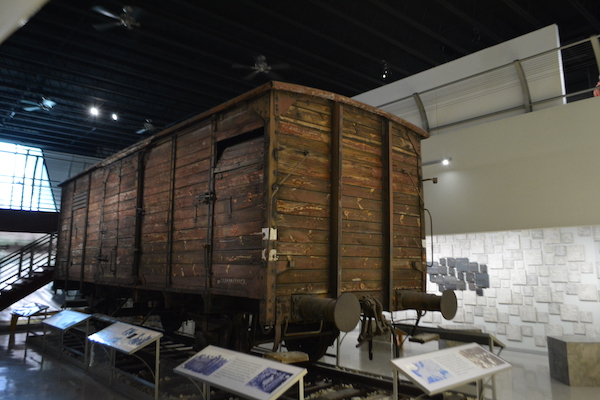 Holocaust - Boxcars from the Holocaust - Florida Holocaust Museum