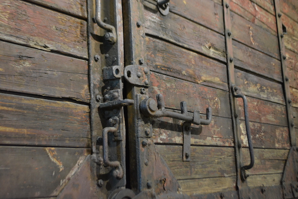 Boxcar from Holocaust - Florida Holocaust Museum - St Petersburg Florida