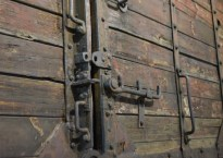 Boxcar from Holocaust - Florida Holocaust Museum - St Petersburg Florida