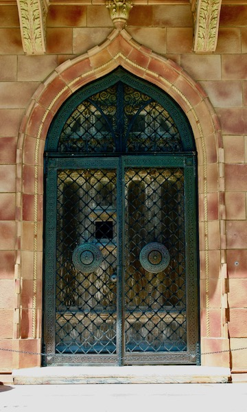 John Ringling- The Ringling – Ca d'Zan – The Ringling Mansion – Sarasota Florida- State Art Museum of Florida - Venetian Gothic Architecture - doors of Sarasota