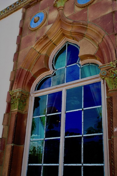 John Ringling- The Ringling – Ca d'Zan – The Ringling Mansion – Sarasota Florida- State Art Museum of Florida - Venetian Gothic Architecture - Venetian glass windows