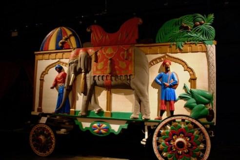 John Ringling- The Ringling – Ca d'Zan – The Ringling Mansion – Sarasota Florida- State Art Museum of Florida - Circus Museum - Ringling Bros and Barnum & Bailey - parade wagons - circus wagons