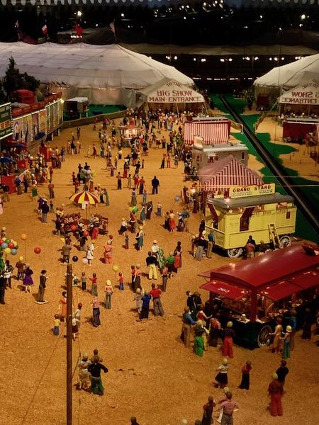 Howard Bros miniature circus at the Ringling in Sarasota Florida