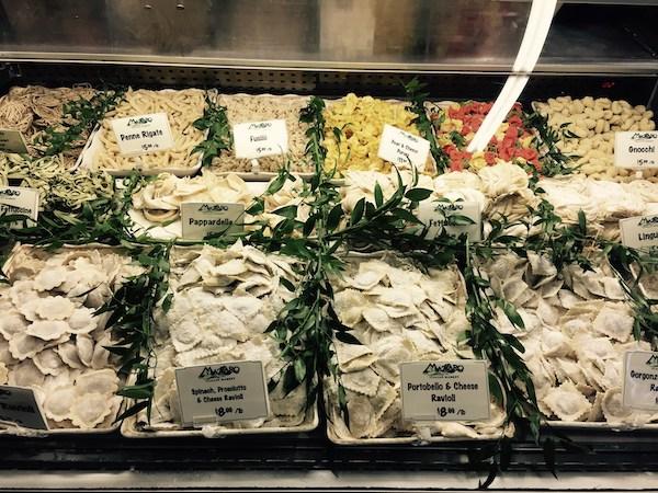 Mazzaro's - St Petersburg Florida- Florida culinary destination - Italian specialty foods- fresh pasta - ravioli - gnocchi-