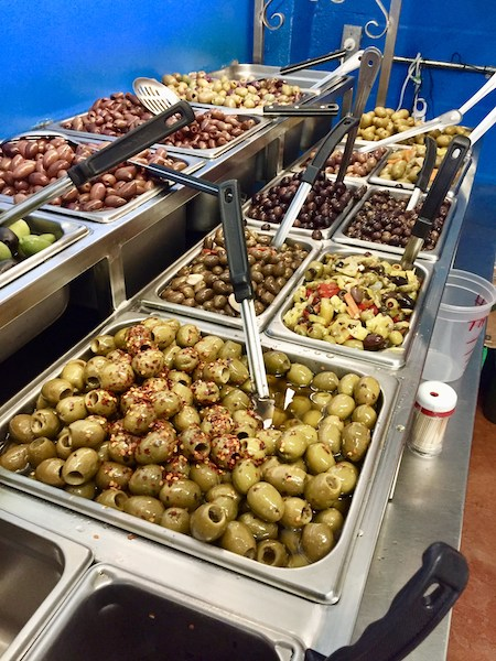 Mazzaro's - St Petersburg Florida- Florida culinary destination - Italian specialty foods - imported olives