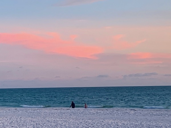 The Sandbar Restaurant - Anna Maria Island - sunset - sunset on the Gulf of Mexico - Gulf of Mexico