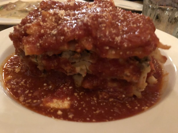 Mark and Chuck's Adventures – Travel bloggers – Food bloggers- Philadelphia - Ralph's Italian Restaurant - tomato gravy - lasagna - Italian food - Oldest Italian Restaurant in America