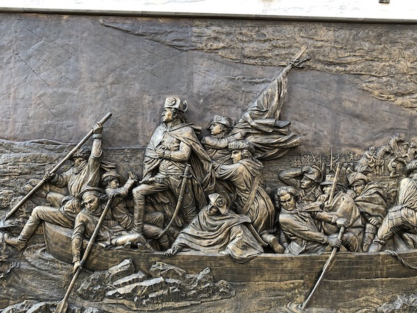Mark and Chuck's Adventures – Travel bloggers – Food bloggers- Philadelphia - Old City Philadelphia - Independence National Park - Washington Crossing the Delaware River