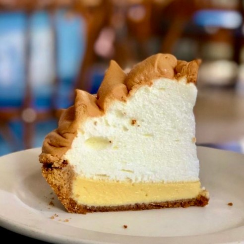 Key Lime Pie - Key West - Blue Heaven - best key lime pie in Key West - The Florida Keys - Mark and Chucks Adventures - Flood Bloggers - Travel Bloggers
