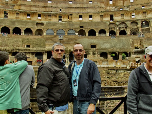 Mark And Chucks Adventures - Roman Colosseum - Seven Modern Wonders of the World