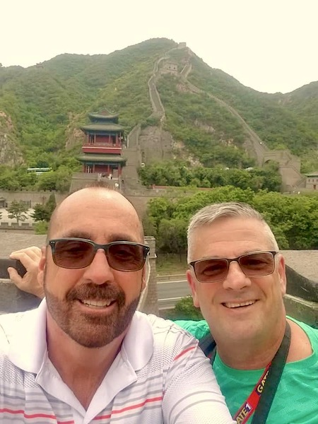 Mark And Chuck's Adventures - Beijing China - Great Wall of China - Gate 1 Travel - Seven Modern Wonders of the World
