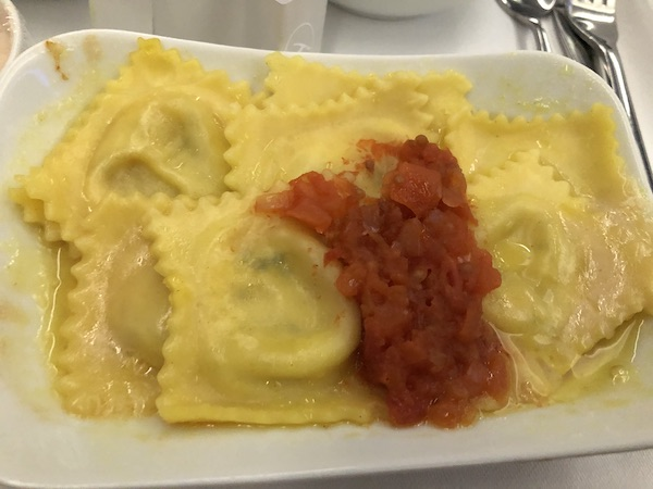 Mark and Chuck's Adventures - India Vacation - Lufthansa - Lufthansa Business Class - Lufthansa Business Class Food