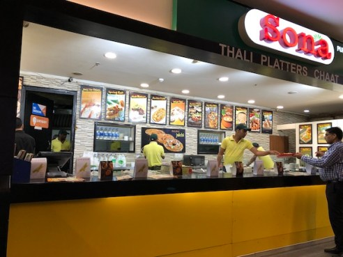 Sona Sweets - Epicuria Food Court - Nehru Place - New Delhi - India -