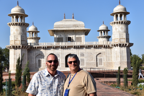 Agra – Baby Taj - Tomb of I'timād-ud-Daulah – India travel - Gate 1 Travel - Mark and Chuck's Adventures -