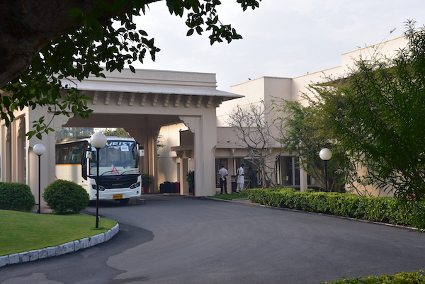 Trident Agra - Trident Hotels - Agra - hotels in Agra - front entrance of Trident Agra