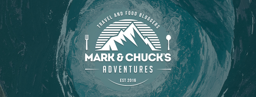 Mark and Chuck's Adventures - travel blog logo - travel and food bloggers