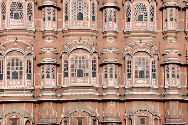 Hawa Mahal - Palace of the Wind - Palace of Breeze - Jaipur - India - The Pink City