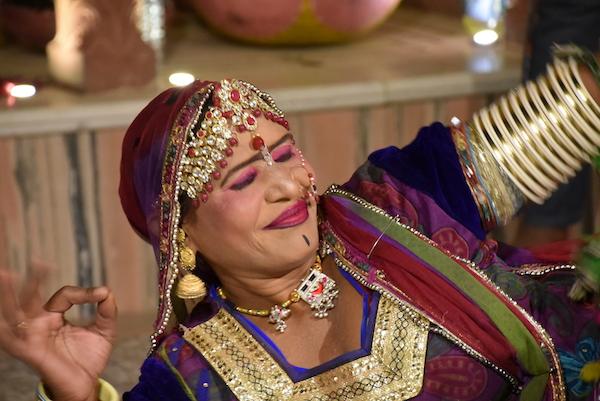 Rajasthani dance - Shahpura House - local cultural entertainer - Jaipur