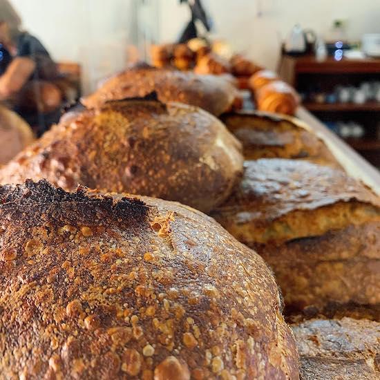 fresh baked bread from artisanal baker SOCO Merida