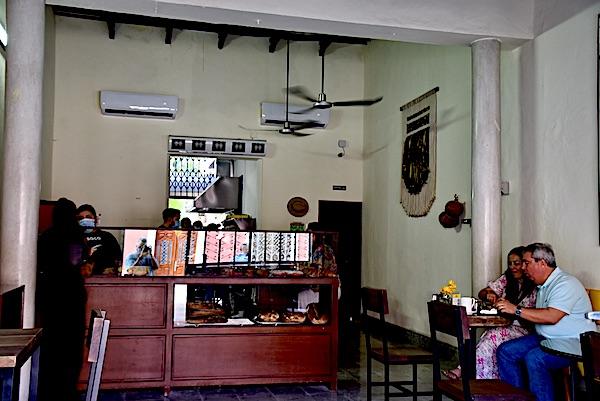Inside of artisanal bakery SOCO Merida