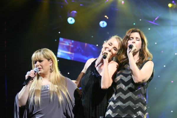 Wilson Phillips performing at an epcot concert