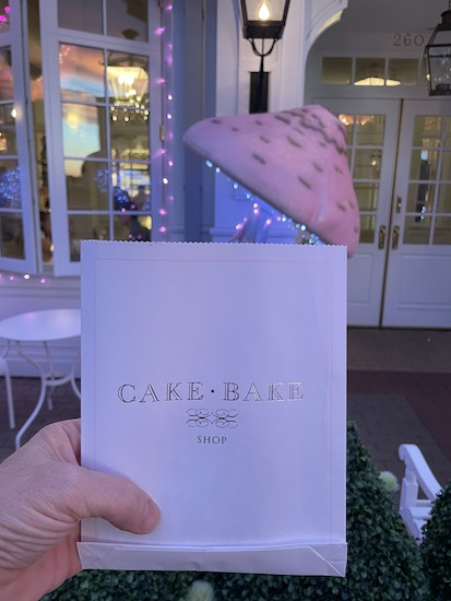 A Take-out cookie from The Cake Bake Shop in Carmel Indiana