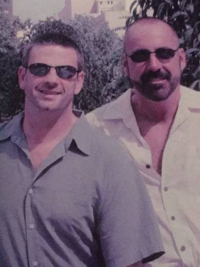 Chuck and Mark in early 2003