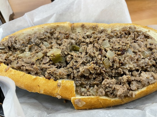 Delco's Original Cheesesteaks in Clearwater Florida has one of the Best Cheesesteaks in Tampa Bay