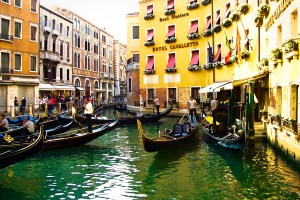Venice Italy, the canals
