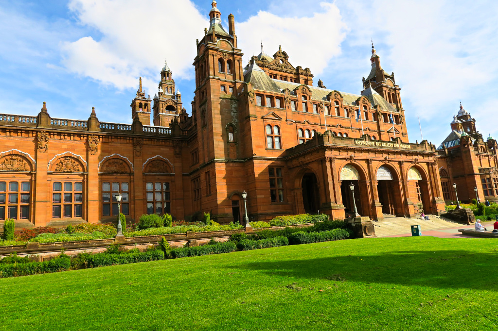 Kelvingrove Art Galleru and Museum, Glasgow, Scotland
