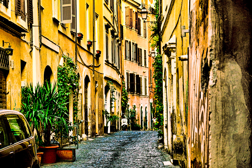 Just a typical street in Rome