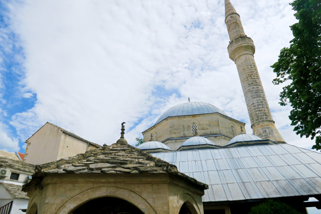 A Mosque in Mostar