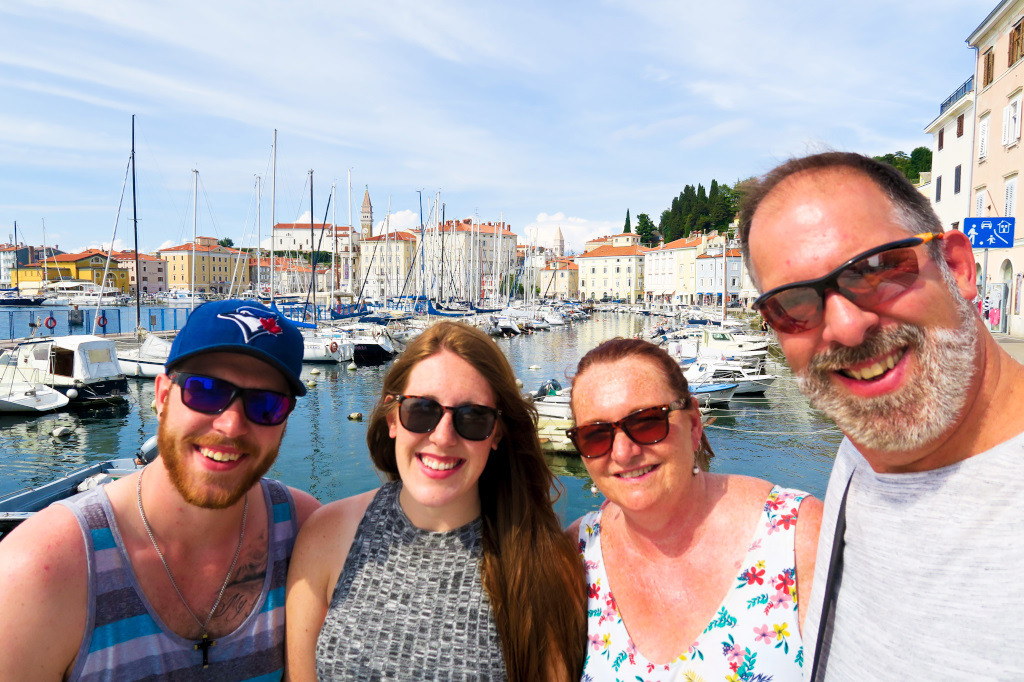 The Bec's in Piran, Slovenia