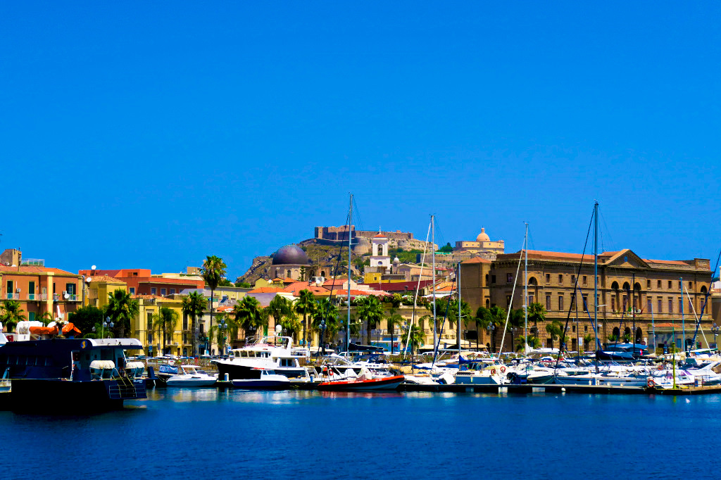 The Port of Milazzo, Sicily