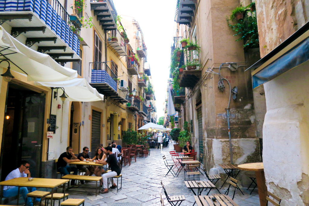 Cafe life in Palermo