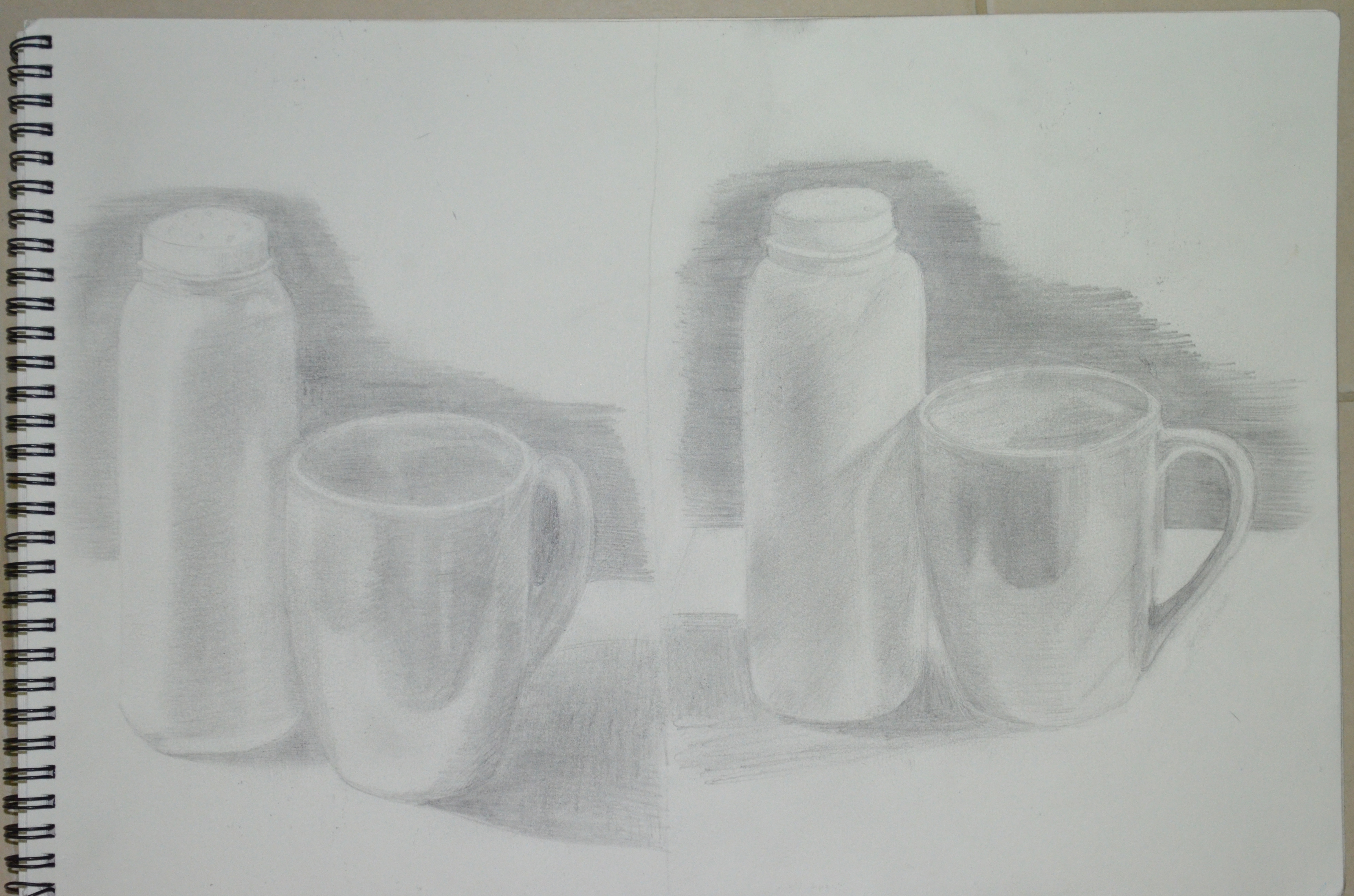 3 Tone And Form My Drawing Course