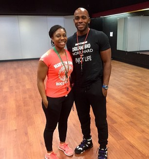 Business partners and co-trainers Elena Hughes and JT Houston.