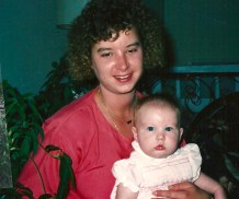 Aunt Fran and Elisabeth.