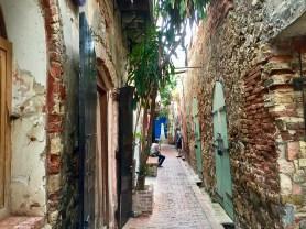 Ornate alley.