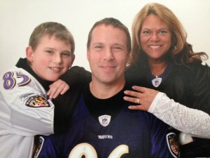 ken and family ravens