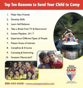 camp poster