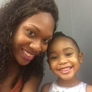 jamella and daughter