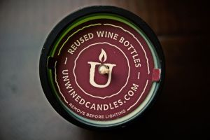 unwined candle top