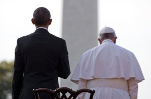 pope and president