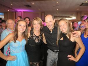 family at bat mitzvah