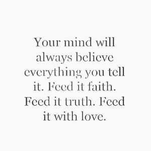 mind believes