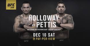 (MMA) Mark Broussard Predictions – UFC 206